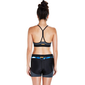 speedo Stormza Crop Top Women Black/Blue